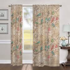 Shower Curtains With Birds Birds And Blossoms Shower Curtain U2013 Laural Home