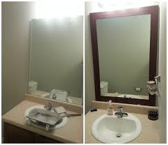 Stick On Frames For Bathroom Mirrors by Stick On Bathroom Mirror Stick On Bathroom Mirror Winsome Design