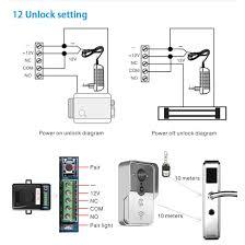 toguard wireless video doorbell intercom wifi pir amazon co uk