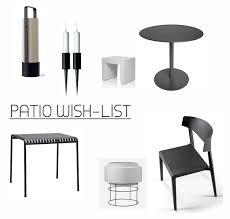 Outdoor Furniture In Spain - vosgesparis patio wish list outdoor furniture for a monochrome look