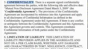 indemnification yt channel embed