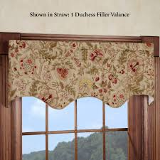 coffee tables jcpenney waverly valances kitchen window valance