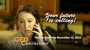 ged connection study at home your future is calling youtube