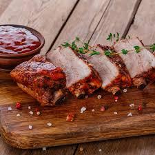 cuisiner travers de porc recette travers de porc grillés par jean coffe cuisine