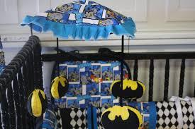 batman themed baby room