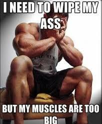 Muscle Man Meme - muscle man funny pinterest