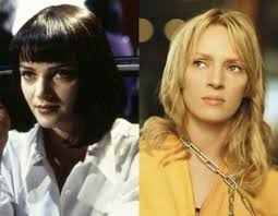 uma thurmans hair in kill bill tarantino theory kill bill is a movie in pulp fiction movies