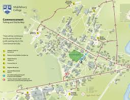 Vt Campus Map Parking And Shuttle Map Middlebury