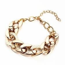 gold chain charm bracelet images Cheap hot sell fashion women gift gold silver chain charm jpg