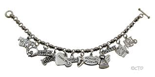 chain bracelet with charms images Bali style charm bracelet jpg