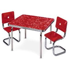 american table and chairs chrome table and chairs american wiki fandom powered by wikia