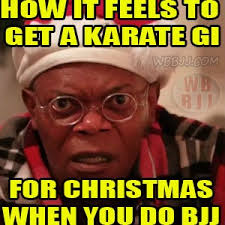 Meme Karate - humor a bjj gi and a karate gi are totally different white belt