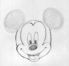 how to draw disney characters mickey mouse drawing factory