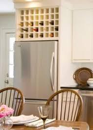 wine rack cabinet over refrigerator stylish kitchen upgrades from diy kits wine rack wine and bottle