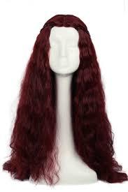 halloween melisandre wig game of thrones wigs costume cosplay long