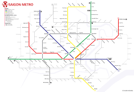 Korean Subway Map by The State Of The Metro An Update On Saigon U0027s Subway Construction