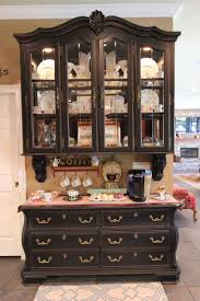 repurpose china cabinet in bedroom awesome repurposed china hutch coffee bars picture for french