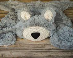 bear rug woodland nursery rug by claraloo woodland decor