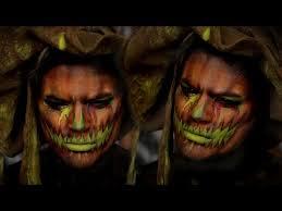 Pumpkin Halloween Costume Neon Pumpkin Halloween Costume Makeup Youtube