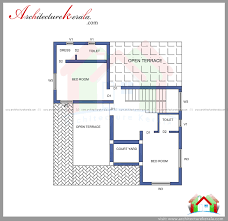 2 000 Square Feet by 2000 Square Feet House Plan And Elevation Architecture Kerala