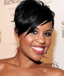 short haircuts edgy razor cut fashionable short hairstyles for black women