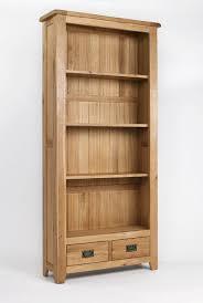 tall corner bookcase furniture home torino solid oak door tall bookcase modern