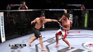 ea sports ufc ranked fight matt brown vs nick diaz granite chin