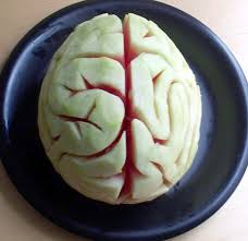 Halloween Brain Cake by Melon Brains 4 Steps With Pictures