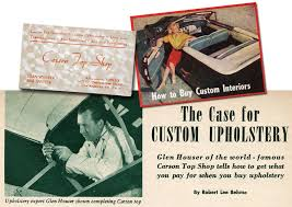 Robert Custom Upholstery The Carson Top Shop Part 2 Custom Car Chroniclecustom Car Chronicle