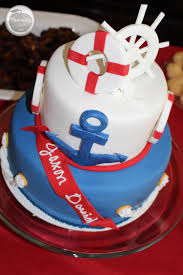 nautical baby shower cakes nautical baby shower ideas peachfully chic