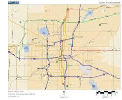 Map Oklahoma Oklahoma Highways Us Route 77 Oklahoma City Area