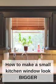 those pesky little kitchen windows and how to make them look