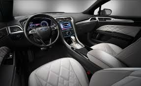 Ford Fusion Interior Pictures Ford Pondering High End Vignale Trim For Fusion U2013 News U2013 Car And