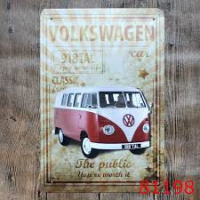 decor signs valkswagen vw vintage metal signs wall decor house bar metal
