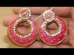earrings ideas how to make designer earrings new diy craft ideas 2017