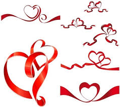 heart ribbon heart ribbon free vector 8 018 free vector for