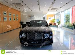 bentley mulsanne black black mulsanne in bentley motors speciality shop editorial image