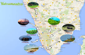 Kerala India Map by Top 10 Tourist Places In Kerala Yatramantra Holidays