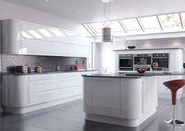 Ex Display Kitchen Islands Grey Worktop With Grey Tiles Splash Back Splash Backs