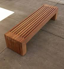 Backyard Bench Ideas Contemporary Wood Bench 33 Design Images With Modern Wooden Bench