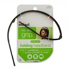 scunci headband scunci no slip grip folding headband 1 ea stockn go