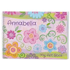flowers u0026 hearts personalized sketchbook current catalog