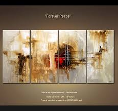 decor painting painting abstract painting multi panel 4142