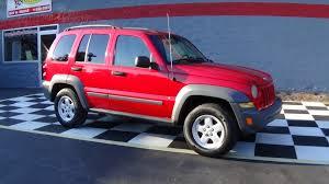 red jeep liberty 2005 jeep liberty sport buffyscars com