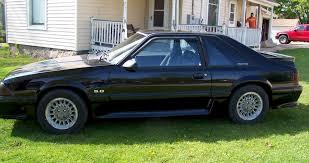 Mustang Gt Black Black 1990 Ford Mustang Gt Hatchback Mustangattitude Com Photo