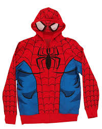 spiderman halloween costumes for kids amazon com freeze men u0027s spiderman costume hoodie clothing