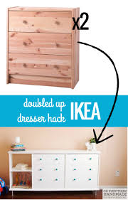 Ikea Bedroom Furniture Chest Of Drawers by Double The Fun Ikea Rast Dresser Hack Dresser Storage And Ikea