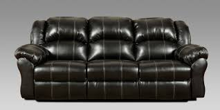 Leather Reclining Sofa Loveseat by Taos Black Bonded Leather Reclining Sofa U0026 Loveseat Set 1000