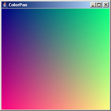 rainbow color color 2d graphics gui java