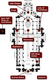 Cathedral Floor Plan Take A Virtual Tour St Patrick U0027s Cathedral New York Ny
